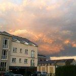 Sunset over Ashford Court