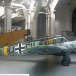 One of the planes from the restoration hangar.