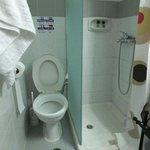 Toilet & shower