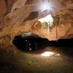 Intérieur de la caverne
