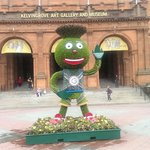Commonwealth mascot 'Clyde'
