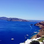 Picture taken on hike to Oia