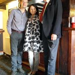 Matt Baker, Shirley and John Bell, 617 Sqn Bomb Aimer