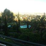 Las vistas, espectaculares y los jardines también