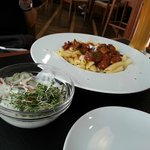 Very Tender Meat with Pasta