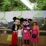 With Mickey