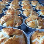 Chicken, Ham & Buttered Leek Pies