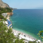 Beach_two minutes from Pension Marianna