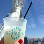 Bring your drink up to the High Roller