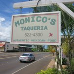 Monico's good local Mexican food in Kauai