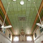 Ceiling with Herbal painting done 100 years ago!.