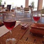 le bon petit rose du midi au restaurant de la piscine