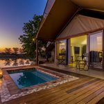 Luxury Tent Fish Eagle and Bataleur