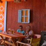 Caratteristico bar Tranquilo lungomare di Perissa