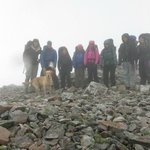 The gang on a chilly peak