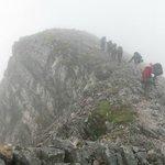 Heading to the ridges