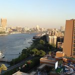 View of Nile from Zamalek Tower