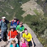 On top of Huayan Picchu