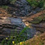 Waterfall near Upper bhavani lake