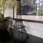 Eiffel tower @ cafe du jour