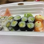 different sized maki that's supposed to be from 1 roll