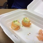 what they call salmon roses!