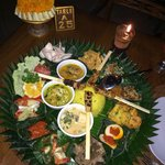 The Indonesian Rice Table. Very good.