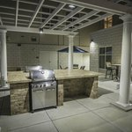 Outdoor Patio and Grill