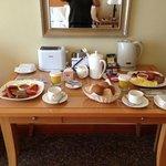 Room service - breakfast