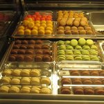 Did I mention the delicious Gelato filled Macarons??