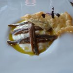 Anchovy dish