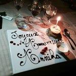 Dessert for the birthday girl!