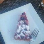Fruity Berry Cake ( custard filling, light crust)