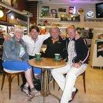 Met Mustafa en Serkan