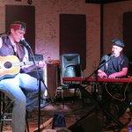 Tim singing Willie &David Keyes on Piano
