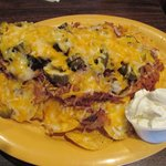 Brian's World Famous Pulled Pork Nacho  Plate