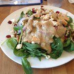 Spinach and Walnut Salad