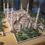 Maquette d'une mosquée
