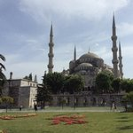 The Mosque of Sultan Ahmed I, otherwise known as The Blue Mosque