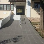 steep ramp