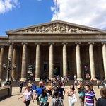 Frente do museu britânico