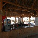 Bar à la plage extérieure (boissons payantes)