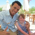Ahmed Atef and My Daughter (his biggest fan)
