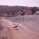 пляж в порту