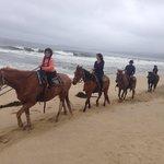 Family & I Horseback ridding