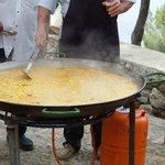 Paella mista -sagra a LA VICTORIA