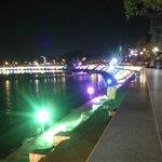 Amazing view of the lake & lightings