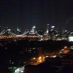 Vista desde la habitación de noche (Piso 10)