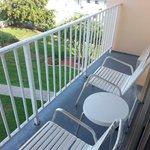 Fourth floor Gulf front balcony.  Narrow!