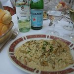 Risotto with chciken and artichokes
